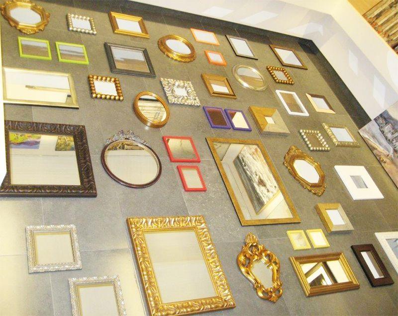 Marcos decoración lienzos espejos